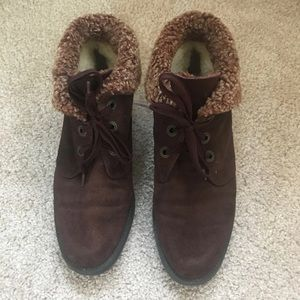 Gabor brown winter boots
